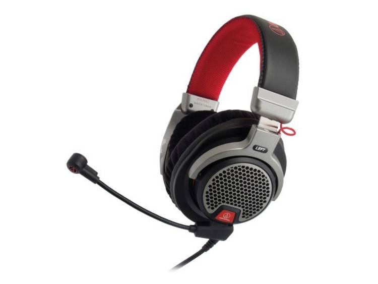 Gaming headset Stereo 3.5 mm jackplug Kabelgebonden Audio Technica ATH PDG1 Over