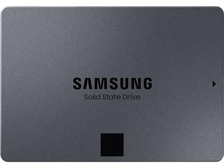 Samsung 860 QVO SSD harde schijf (2.5 inch) 1 TB Retail MZ-76Q1T0BW SATA III