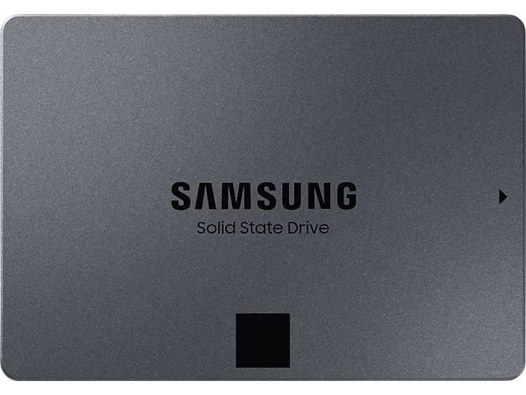 Samsung 860 QVO SSD harde schijf (2.5 inch) 4 TB Retail MZ-76Q4T0BW SATA III