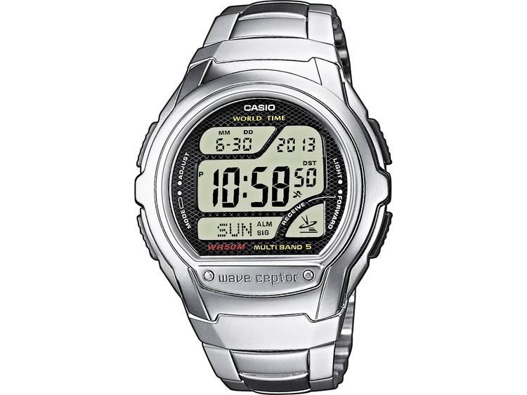 Casio Zendergestuurd Horloge WV 58DE 1AVEF l x b x h 53.4 x 43.7 x 12 mm Zilve