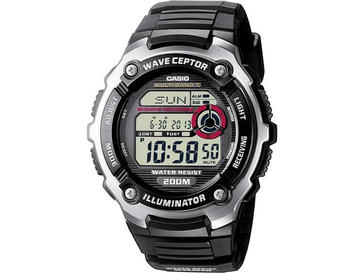 Casio Zendergestuurd Horloge WV 200E 1AVEF l x b x h 52.2 x 47.7 x 15.2 mm Zil
