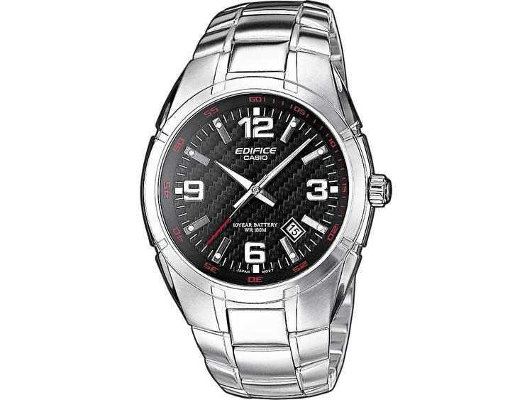 Casio Quartz Horloge EF 125D 1AVEF l x b x h 48.60 x 40 x 9.90 mm Zilver Mater