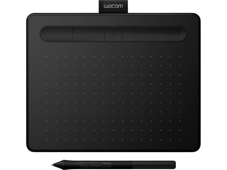 Wacom Intuos S Bluetooth 2540lpi 152 x 95mm USB-Bluetooth Zwart grafische tablet