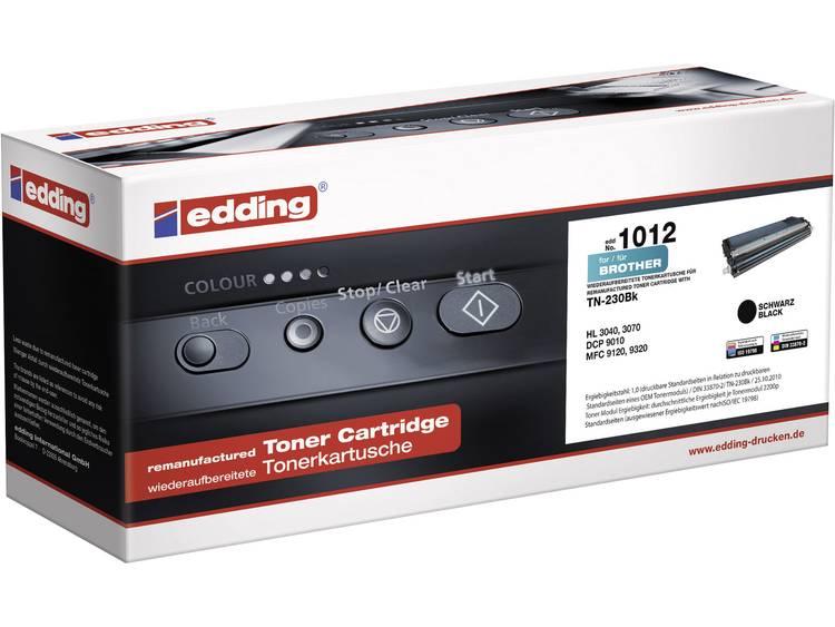 Edding Tonercassette vervangt Brother TN 230BK TN230BK Compatibel Zwart 2200 bl