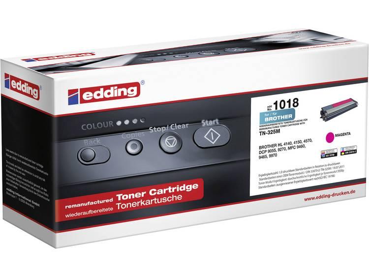 Edding Tonercassette vervangt Brother TN 325M TN325M Compatibel Magenta 3500 bl