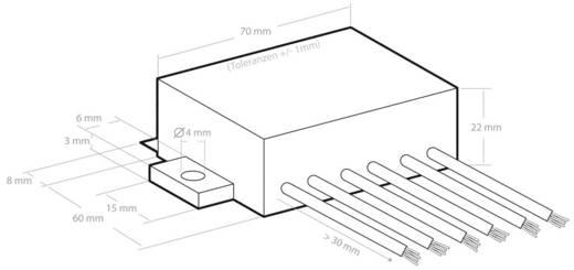 Kemo Spanningsomvormer Module Ingangsspanning (bereik): 14 - 6 V/DC Uitgangsspanning (bereik): 11 - 26 V/DC