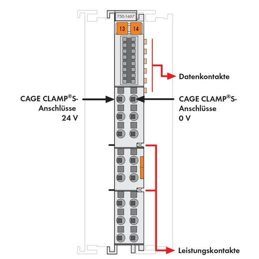 WAGO 750-1607 PLC-klem 24 V/DC