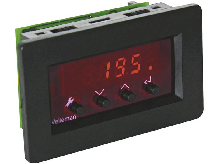 Velleman Thermostaatmodule VM148 Module 9 12 V= Temperatuurregelbereik (°C) -18 tot +60 °C