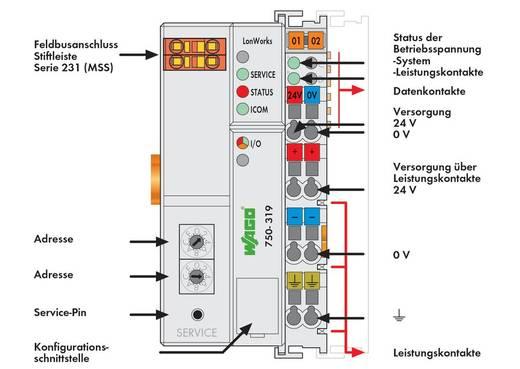 WAGO 750-319 PLC-busaansluiting 24 V/DC