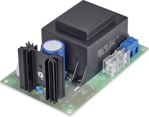 Conrad Components Netvoedingsmodule Module Ingangsspanning (bereik): 230 V/AC (max.) Uitgangsspanning (bereik): 24 V/DC (max.)