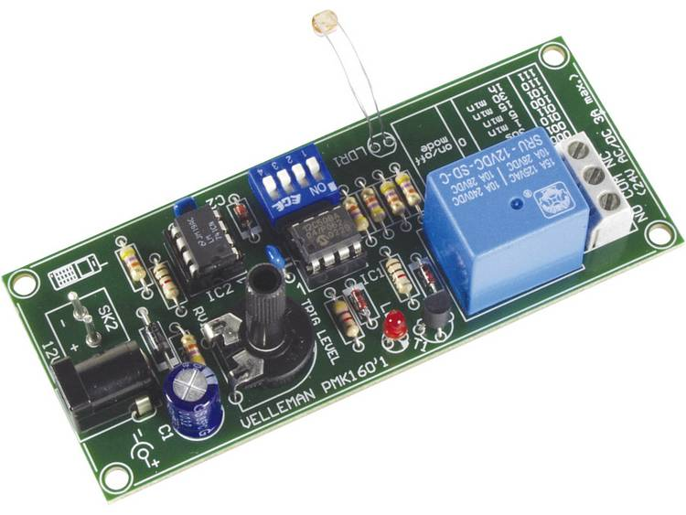 Velleman afstandsbediening via GSM MK160