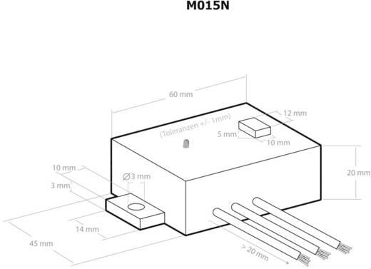 Kemo Spanningsomvormer Module Ingangsspanning (bereik): 28 - 6 V/DC Uitgangsspanning (bereik): 15 - 3 V/DC