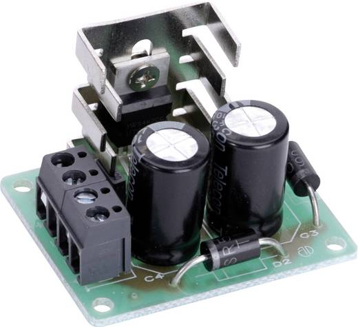 Conrad Components Spanningsomvormer Bouwpakket Ingangsspanning (bereik): 6 - 18 V/DC Uitgangsspanning (bereik): 12 - 36
