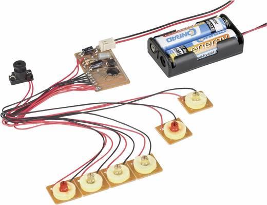 Conrad Components 191097 6 kanaals Looplicht bouwpakket Uitvoering (bouwpakket/module): Module 3 V/DC