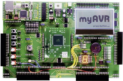 myAVR AVR Entwicklungsboard MK3 / 64 K Experimenteer-board