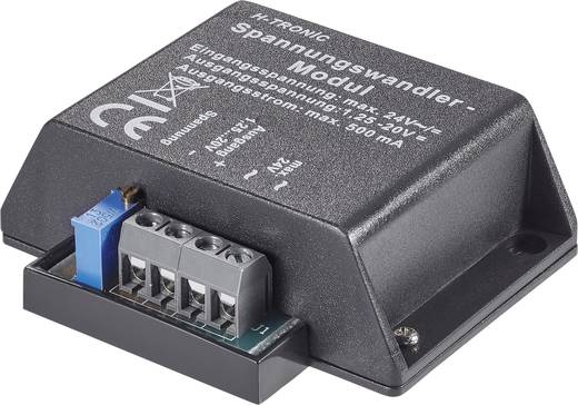 H-Tronic Spanningsomvormer Module Ingangsspanning (bereik): 4, 4 - 24, 24 V/DC, V/AC Uitgangsspanning (bereik): 1.2 - 20 V/DC