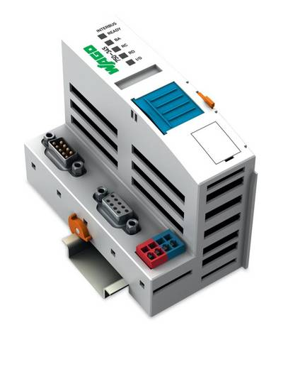WAGO 750-345 PLC-busaansluiting 24 V/DC 1 stuks