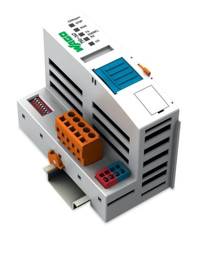 WAGO 750-347 PLC-busaansluiting 24 V/DC