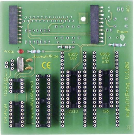 myAVR myMultiProg MK2, bestückt USB-programmer
