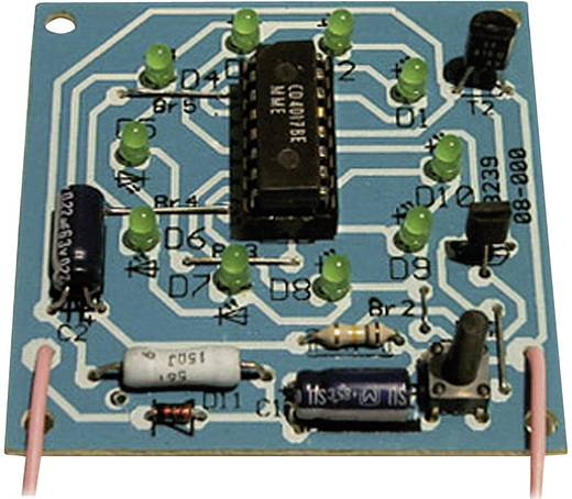 Kemo B239 Rad van fortuin bouwpakket Uitvoering (bouwpakket/module): Bouwpakket 9 V/DC, 12 V/DC