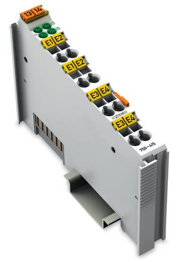 WAGO 750-415 PLC-ingangskaart 24 V/DC, 24 V/AC