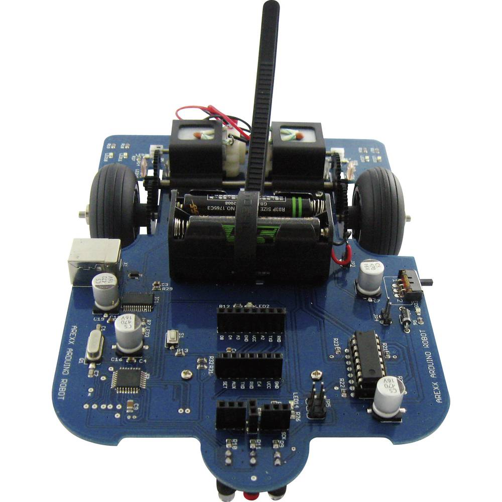Arexx Robot byggsats AAR-04 Färdig enhet AAR-04 Arduino