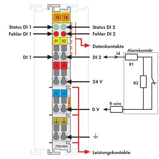 WAGO 750-424 PLC-inbraakmelder 24 V/DC