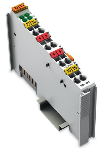 WAGO 750-433 PLC-ingangskaart 24 V/DC