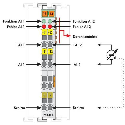 WAGO 750-480 PLC-ingangskaart
