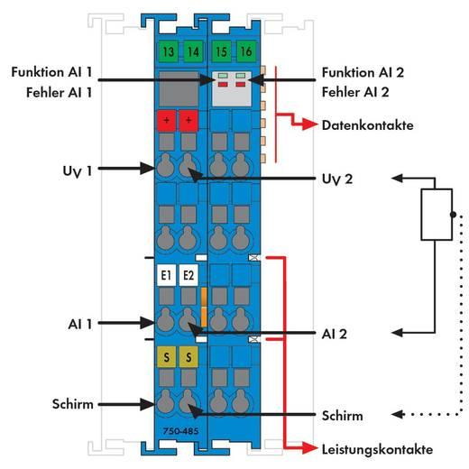 WAGO 750-485 PLC-ingangskaart 24 V/DC