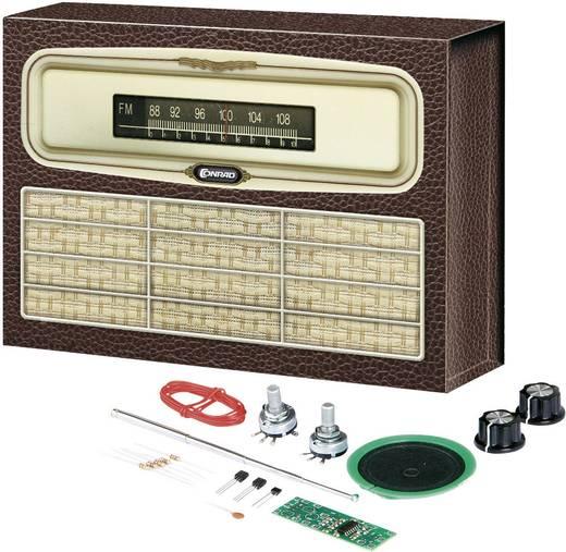 Conrad Components 10057 Retro-radio FM vanaf 14 jaar