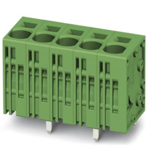 Veerkachtklemblok 6.00 mm² Aantal polen 4 SPT 5/ 4-V-7,5-ZB Phoenix Contact Groen 50 stuks