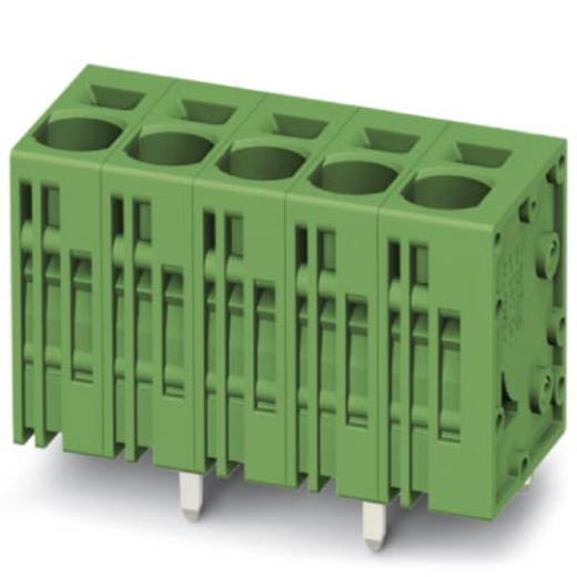 Veerkachtklemblok 6.00 mm² Aantal polen 6 SPT 5/ 6-V-7,5-ZB Phoenix Contact Groen 50 stuks