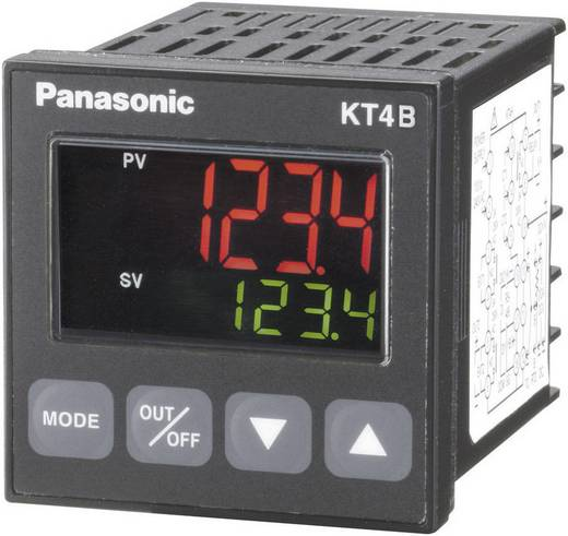Panasonic AKT4B211100 Temperatuurregelaar K, J, R, S, B, E, T, N, PL-II, C, Pt100, Pt100 -200 tot +1820 °C Relais 3 A (