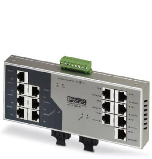 Phoenix Contact FL SWITCH SF 14TX/ 2FX - switch 2832593 Aantal ethernet-poorten 14 Aantal glasvezel-poorten 2