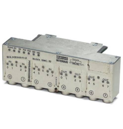 Phoenix Contact IBS RL 24 DIO 8/8/ 8-R-LK-2MBD 2734510 PLC-uitbreidingsmodule 24 V/DC