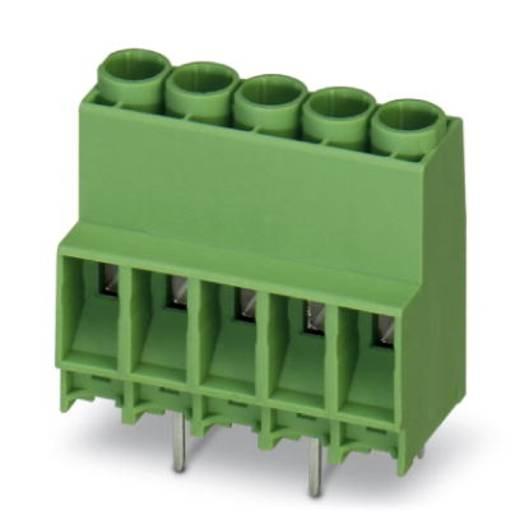 Klemschroefblok 4.00 mm² Aantal polen 6 MKDS 5N HV/ 6-ZB-6,35 Phoenix Contact Groen 50 stuks