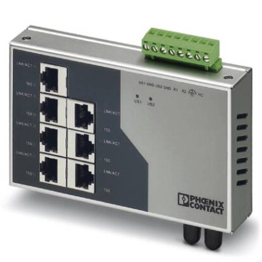 Phoenix Contact FL SWITCH SF 7TX/FX ST - switch 2832577 Aantal ethernet-poorten 7 Aantal glasvezel-poorten 1