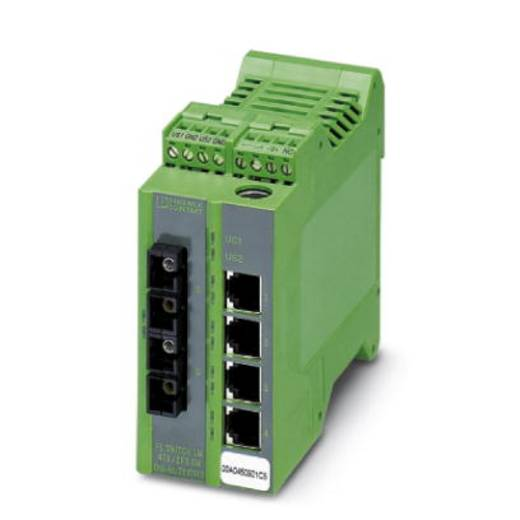 Phoenix Contact FL SWITCH LM 4TX/ 2FX SM - switch 2891916 Aantal ethernet-poorten 4 Aantal glasvezel-poorten 2