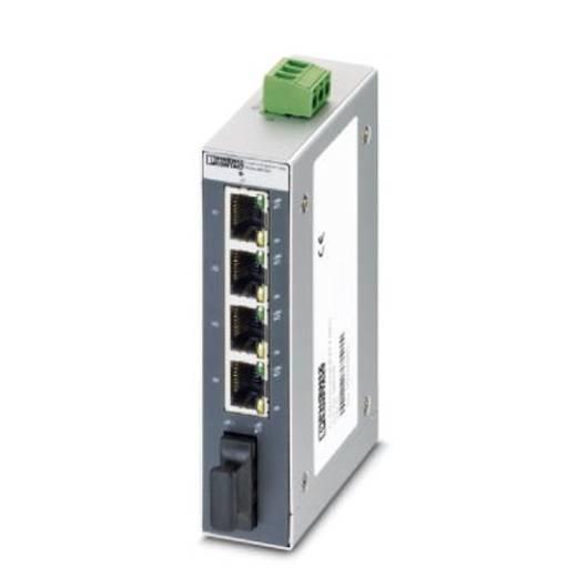 Phoenix Contact FL SWITCH SFNB 4TX/FX SM20 - switch 2891029 Aantal ethernet-poorten 4 Aantal glasvezel-poorten 1