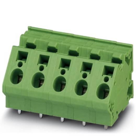 Veerkachtklemblok 4.00 mm² Aantal polen 1 ZFKDS 4-10 Phoenix Contact Groen 50 stuks