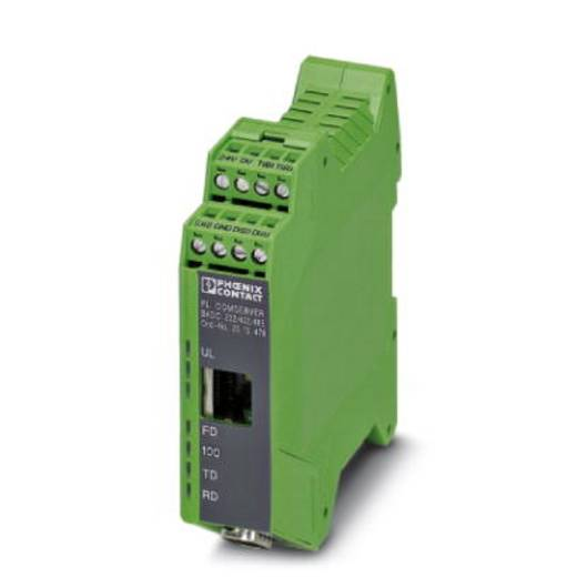 Phoenix Contact FL COMSERVER BASIC 232/422/485 - Interfaceomvormer 2313478 Aantal ethernet-poorten 1