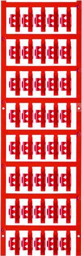 Kabelmarkering Montagemethode: Vastklemmen Markeringsvlak: 21 x 4.10 mm Geschikt voor serie Enkele aders Rood Weidmüller