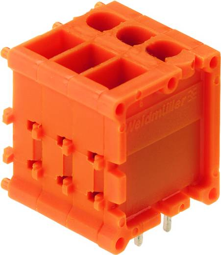 Klemschroefblok 2.50 mm² Aantal polen 15 TOP1.5GS15/180 5 2ST OR Weidmüller Oranje 20 stuks