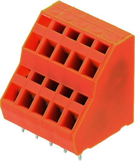 Dubbeldeksklem 1.50 mm² Aantal polen 32 LM2NZF 5.08/32/135 3.5SN OR BX Weidmüller Oranje 10 stuks