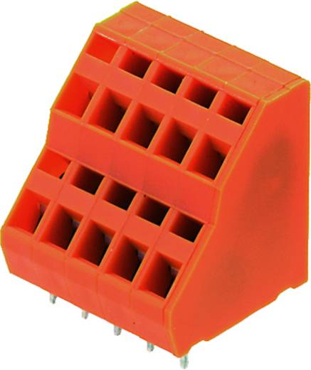 Dubbeldeksklem 1.50 mm² Aantal polen 34 LM2NZF 5.08/34/135 3.5SN OR BX Weidmüller Oranje 10 stuks