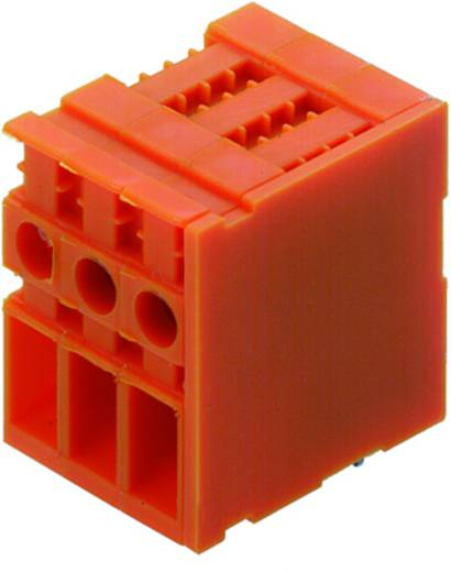 Klemschroefblok 4.00 mm² Aantal polen 7 TOP4GS7/90 6.35 OR Weidmüller Oranje 50 stuks