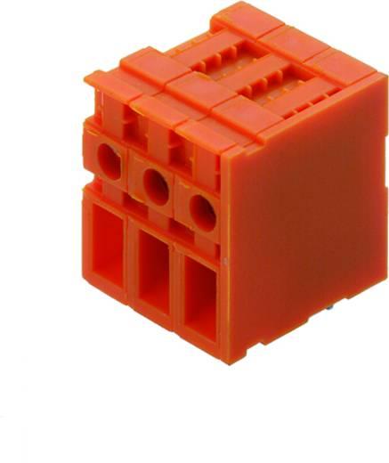 Klemschroefblok 4.00 mm² Aantal polen 9 TOP4GS9/90 7.62 OR Weidmüller Oranje 50 stuks