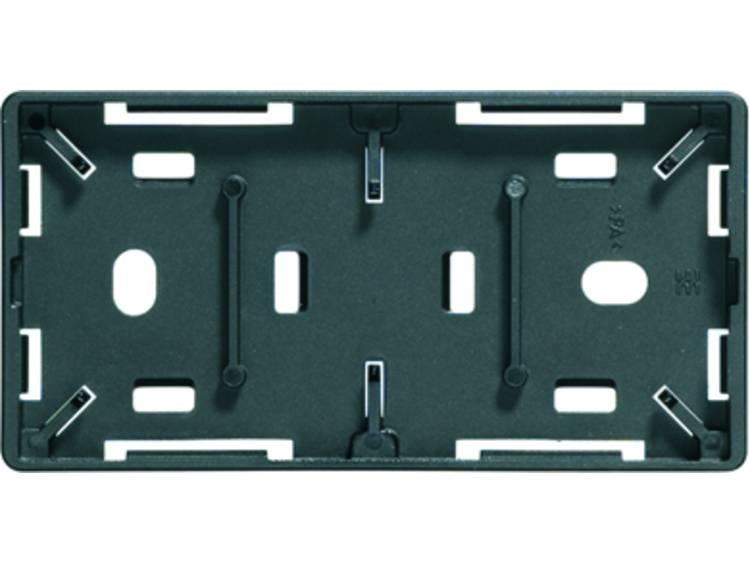 Kabelmarkering Montagemethode: Vastklemmen, Schroeven Markeringsvlak: 27 x 15 mm Geschikt voor serie Apparatuur en schakelapparatuur, Universeel gebruik Zwart