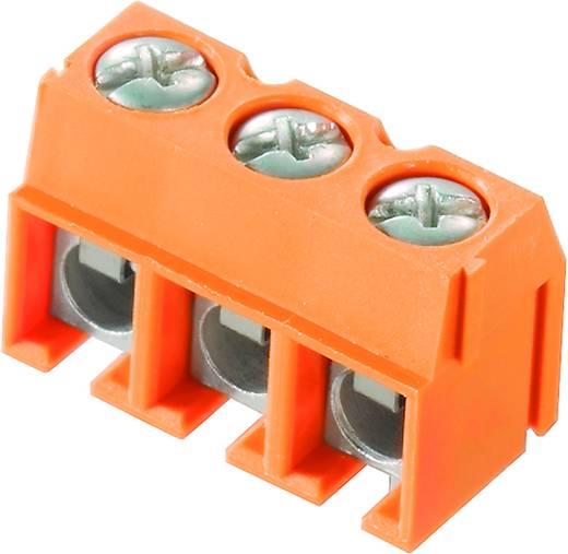 Klemschroefblok 2.50 mm² Aantal polen 3 PM 5.00/03/90 3.5SN OR BX Weidmüller Oranje 500 stuks